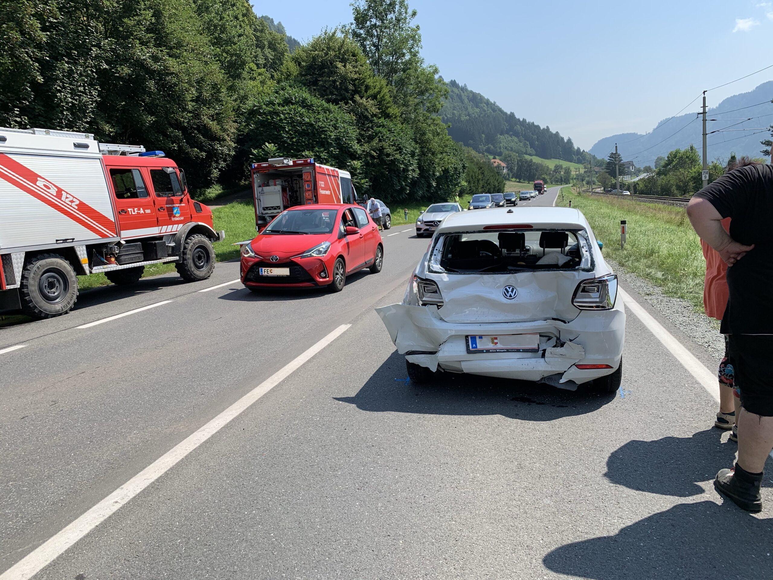 Verkehrsunfall mit Personenschaden in Steindorf