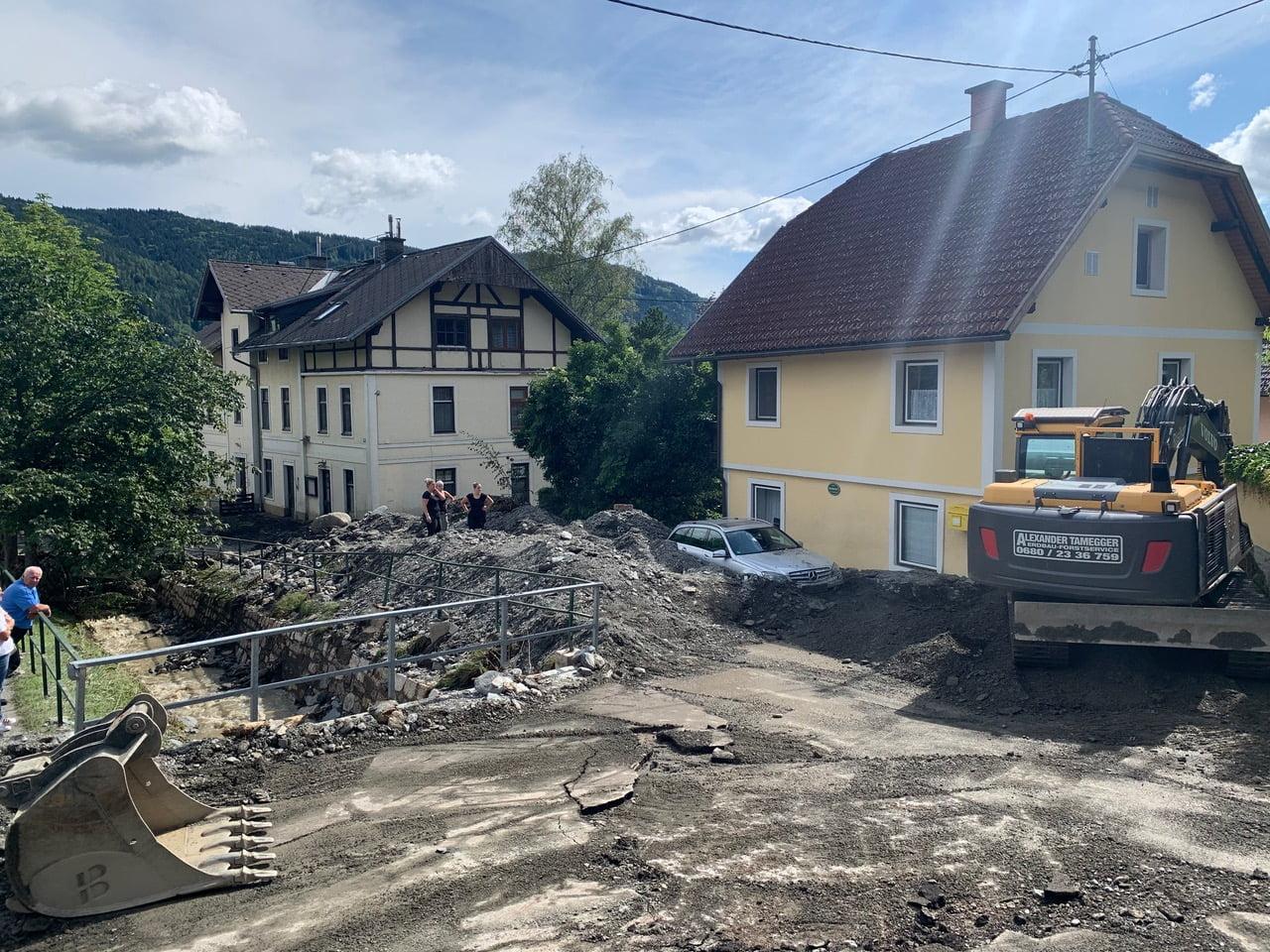 Unwettereinsatz Gemeinde Steindorf a.O