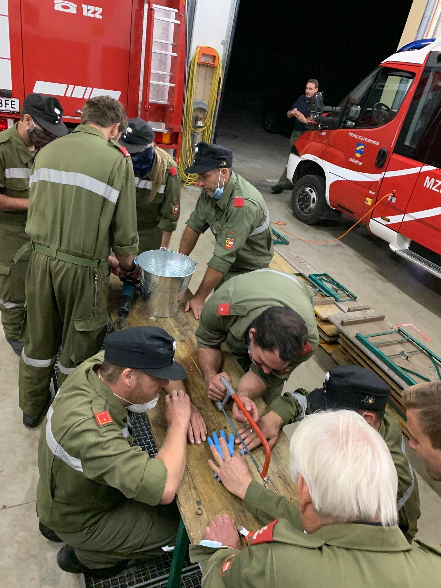 3. Feuerwehreinsatzübung 09.2020